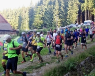 Jizersky Ultratrail 2015 - Start an der Pension Hajenka in Josefuv Dul