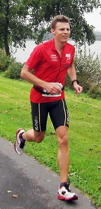 Deutsche Meisterschaft im Sechsstundenlauf - Sieger Florian Böhme vom TSV Kusterdingen