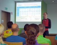 Förderstützpunkttag am 27.9.2014 in Bottrop - Der Abend begann mit einem kurzen Vortrag