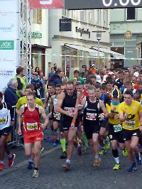 Meisterschaftsfinale in Schwäbisch Gmünd - Start zur DUV DM über 50 Kilometer