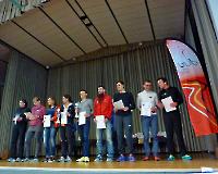 Rodgau - 50-km - die Gesamtsieger des Laufes