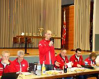 Rodgau - Mitgliederversammlung 2018 - Eröffnung der MV durch den Präsidenten Günther Weitzer