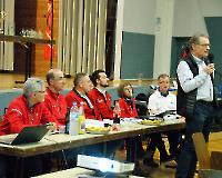 Rodgau - Mitgliederversammlung 2018 - Grußworte des DLV Vizepräsidenten  Matthias Reick