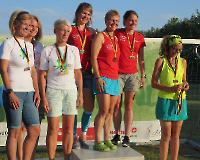 Siegerehrung Teams Frauen  - Foto Dr. Norbert Mady