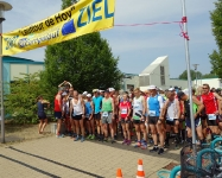 Start zur Deutsche Meisterschaften im 6 –h-Lauf in Hoyerswerda am 9.6.2018